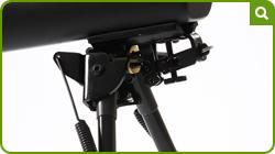 Interceptor Multi-shot optional bipod