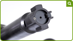 Hunter Quadlock Bolt Head
